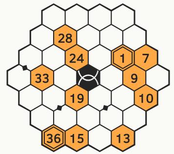 Rikudo - łamigłówka łatwa