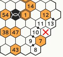 Rikudo - pole zablokowane